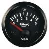 Reloj presión aceite VDO 52mm 0-5 bar