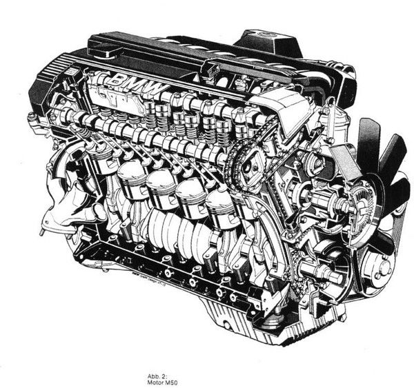 bmw m50 engine