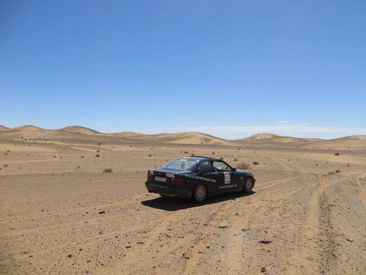 bmw 325i Desierto rally atlas 2013